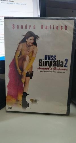 miss simpatia 2 -sandra bullock -lacrado -dvd