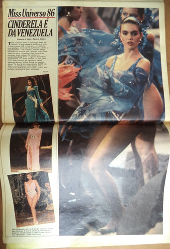 miss universo 1986 = manchete 1789 = b b king no brasil