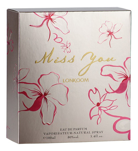 miss you lonkoom - perfume feminino - edp 100ml