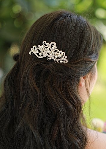 missgrace crystal jewelry peine nupcial headpiece hair clip