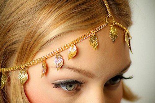missgrace pelo cadena de joyería de la cabeza de la cabeza