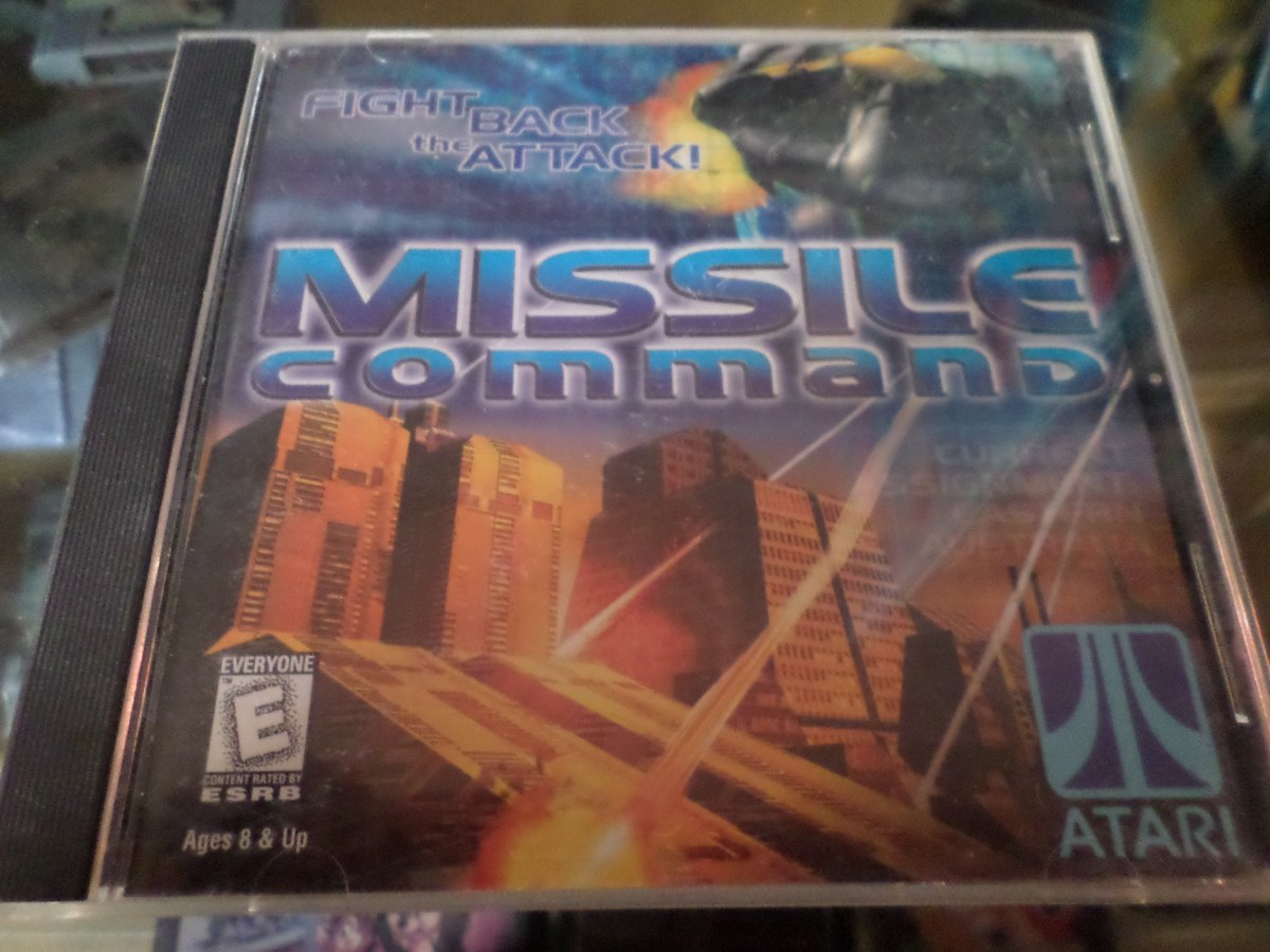 Missile Command Juego Pc Win 95 98 70 00 En Mercado Libre