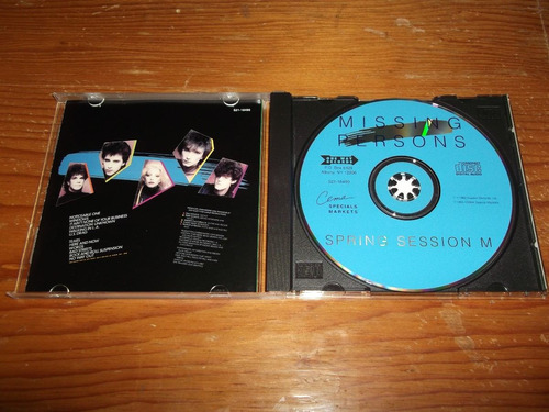 missing persons - spring sessions m cd imp ed 1995 mdisk