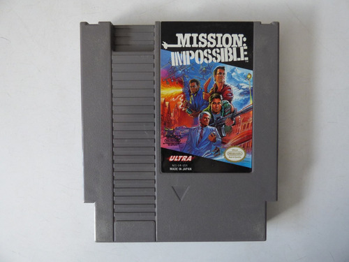mission impossible nintendo nes zonagamz