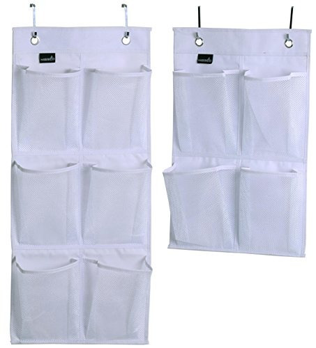 misslo over door organizer para closet pantry narrow door pa