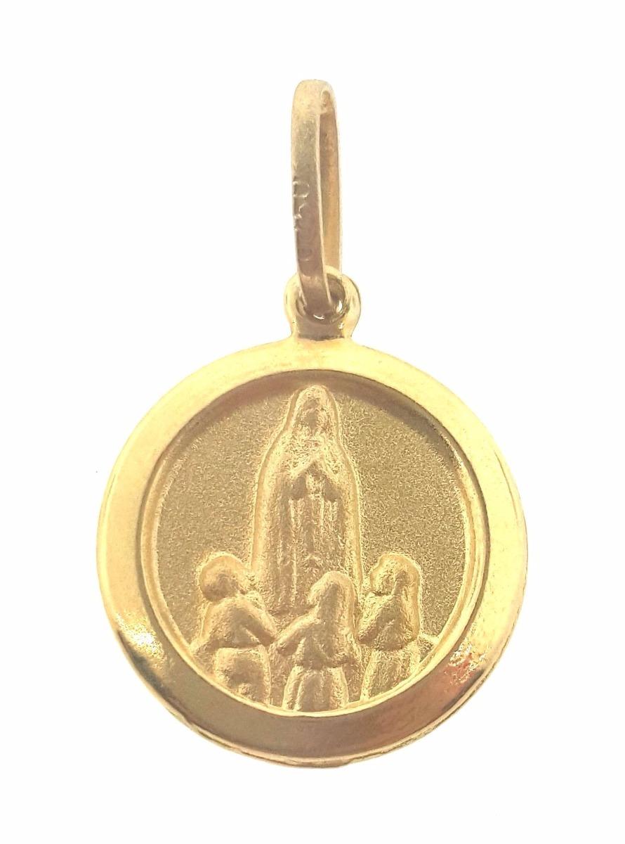 missxl joias pingente nossa senhora de fátima em ouro 18k 0. Carregando  zoom. e22eff2364