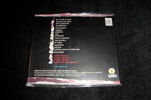 mister américa - canciones arrancadas (2005) cd nuevo