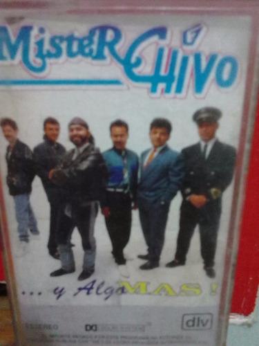 mister chivo - y algo mas (casete original)