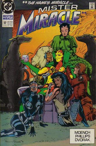 mister miracle 17 2ª série dc comics mc