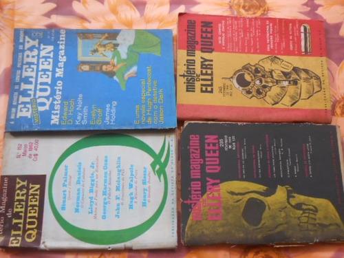 mistério magazine ellery queen lote com 11 livros anos 60/70
