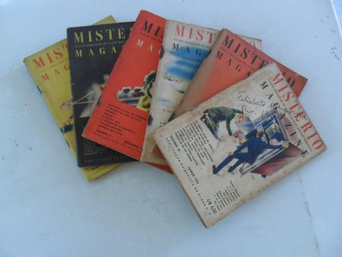 mistério magazine nº 20! dez 1950! livraria do globo!