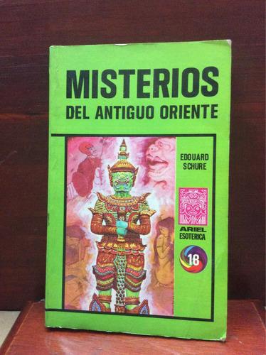 misterios del antiguo oriente. esoterismo