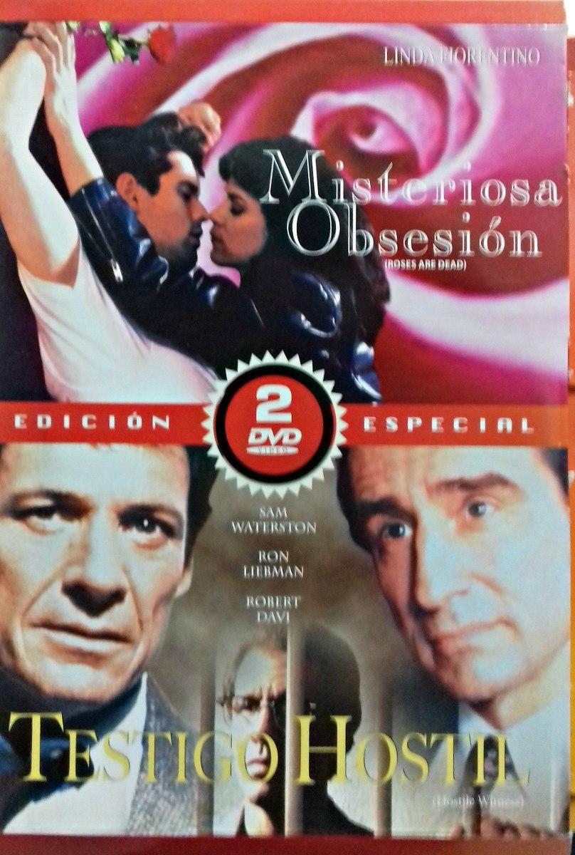 Obsesion Pelicula Porno misteriosa obsesion / testigo hostil / dvd /linda fiorentino - $ 360.00