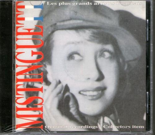 mistinguett - original recordings  - francia - cd