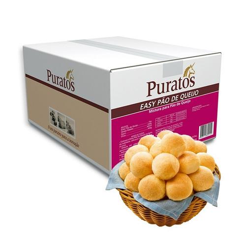 mistura para pão de queijo puratos 10 kg
