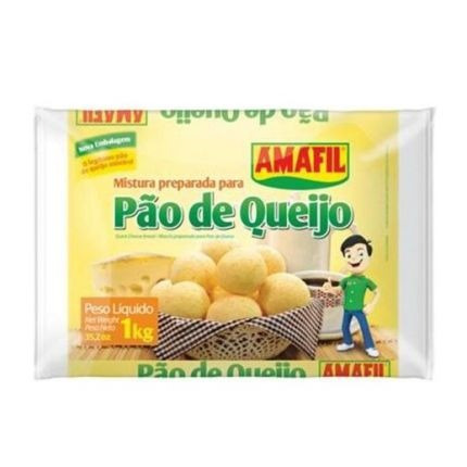 mistura pronta pra pão de queijo amafil 1kg
