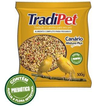 mistura sementes canário tradipet 10kg