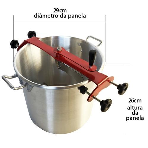 misturadeira misturela cozedeira coxinhas em aço 21 l