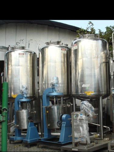 misturador  em aço inox, reatores, tanques , esteiras, etc..