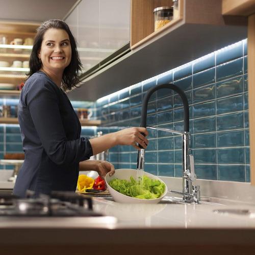 misturador monocomando para cozinha doc docol eb