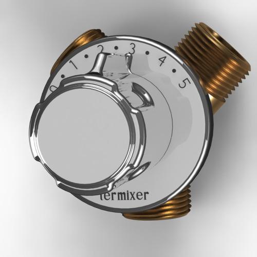 misturador para chuveiro termixer 3/4   bronze
