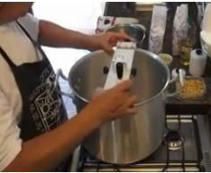misturela misturadeira cozedeira coxinhas em aço inox 21l