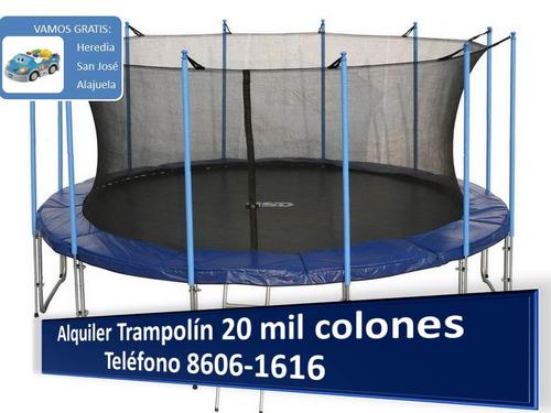 mitad precio segundo juego en brinca trampolin