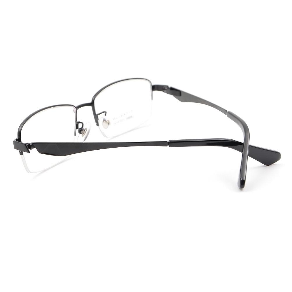 Mitad Sin Montura Gafas Estados Unidos Titanio... (black) - $ 41.990 ...