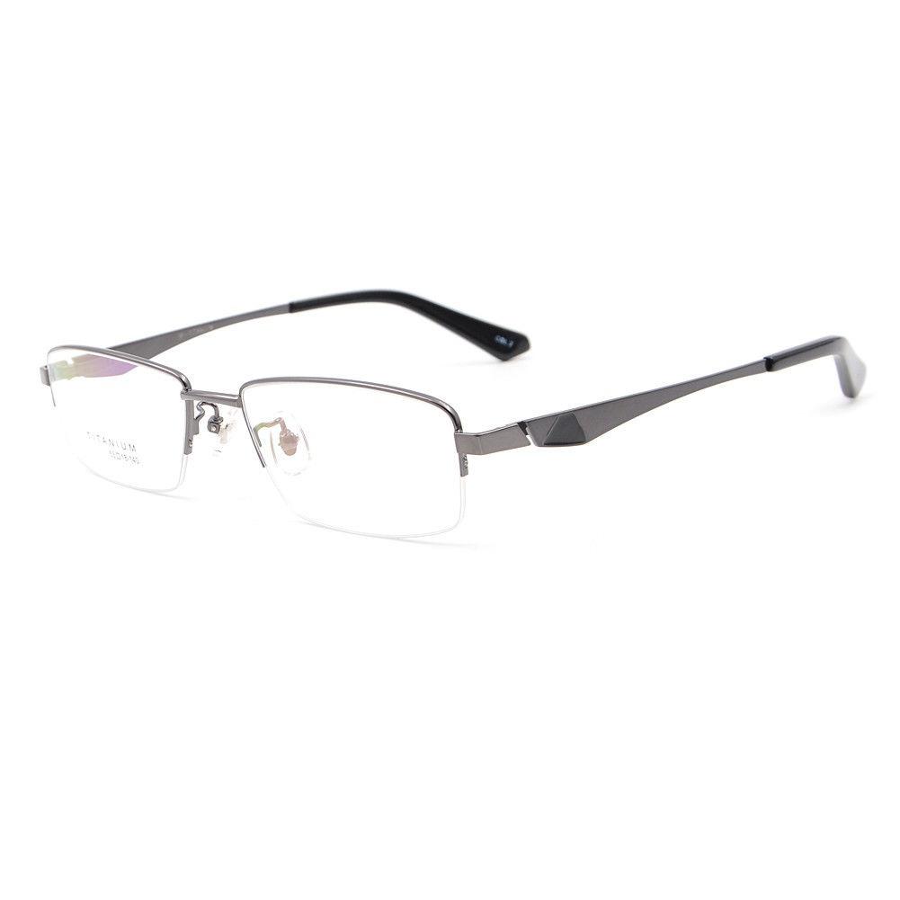 Mitad Sin Montura Gafas Estados Unidos Titanio... (gun) - $ 41.990 ...