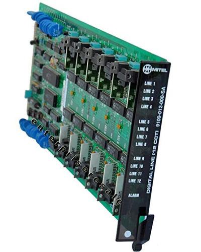 mitel línea digital tarjeta 9109-012-000-sa (reacondicionado
