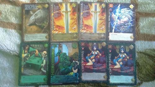 mitos leyendas cartas