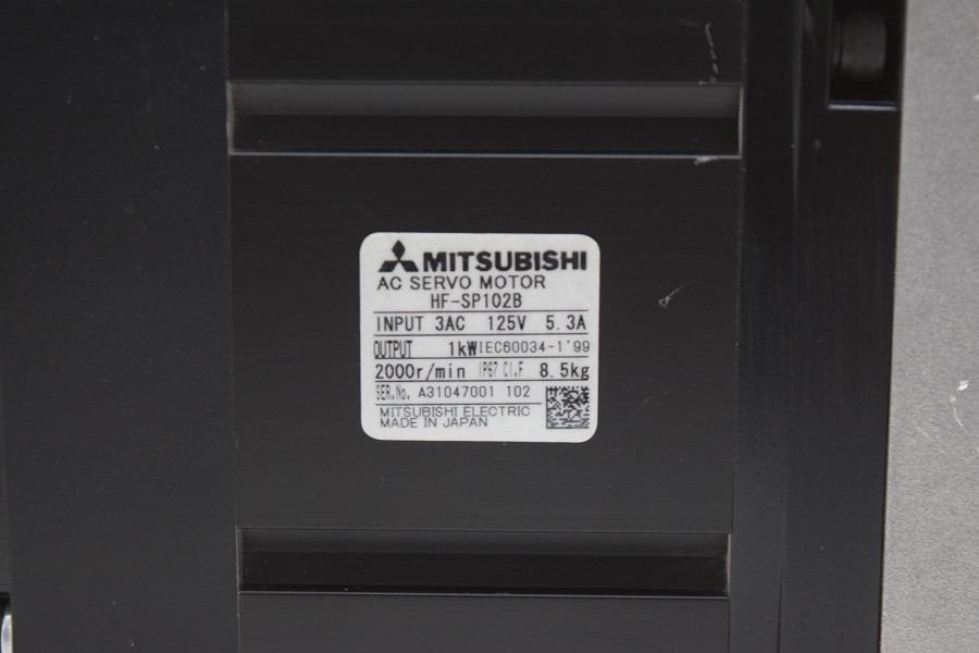 Mitsubishi ac servo motor hf sp102b 32 en for Mitsubishi motors customer service