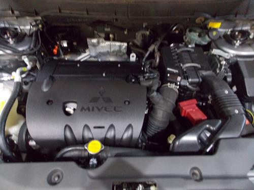 mitsubishi asx 2.0 2011 automatico com couro e multimidia