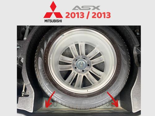 mitsubishi asx 2.0 4wd 4x4 cinza 2013 / 2013 top de linha