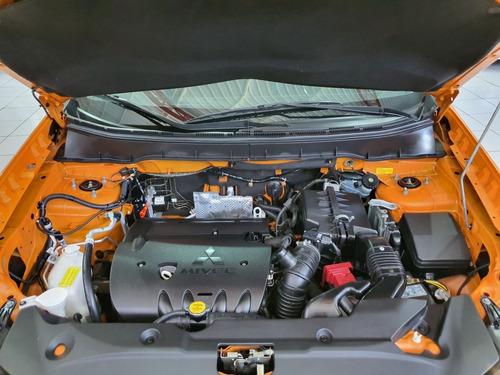 mitsubishi asx awd outdoor 2016 laranja 2.0 gas mecânica