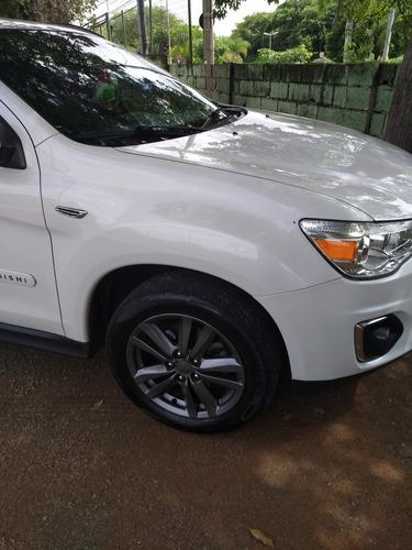 mitsubishi asx branca - completa - pneus bons e mecânica ok.