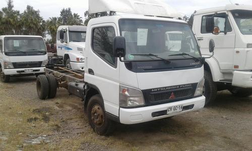 mitsubishi  canter camion plano