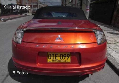 mitsubishi eclipse 2009 2.4 gs convertible