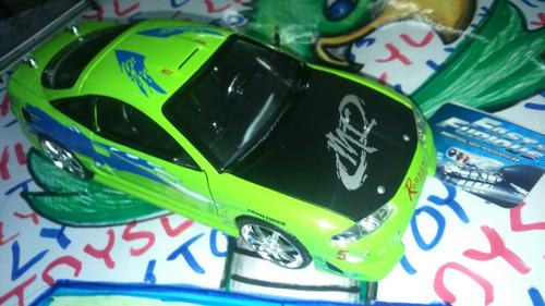 mitsubishi eclipse carro de rápido y furioso jada lyly toys