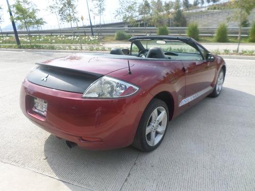 mitsubishi eclipse spyder convertible aut.  e/e 4 cilindros