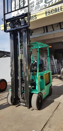 mitsubishi electrico excelente bateria y cargador permuto