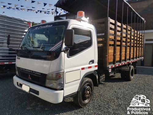 mitsubishi fuso canter estacas 6.5 ton mod. 2012