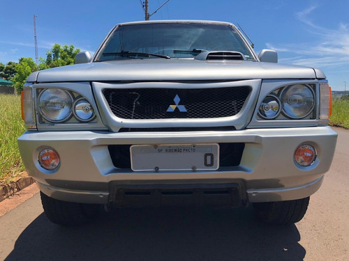 mitsubishi l200 2003 2.5 gls cab dupla 4x4 4p ipva pago
