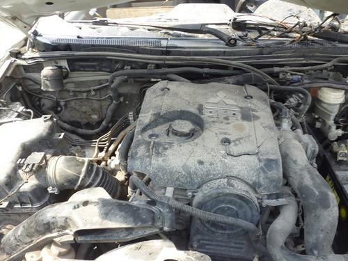 mitsubishi l200 2009 diesel motor 2.5 turbo,standar  partes