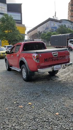 mitsubishi l200, 2010, 2.4cc, 110.000km, mec, diesel,rojo