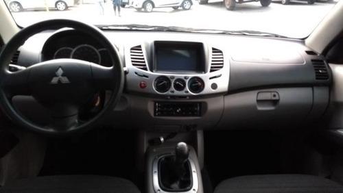 mitsubishi l200 2.4 cabine dupla 2014 flex vilage automovei