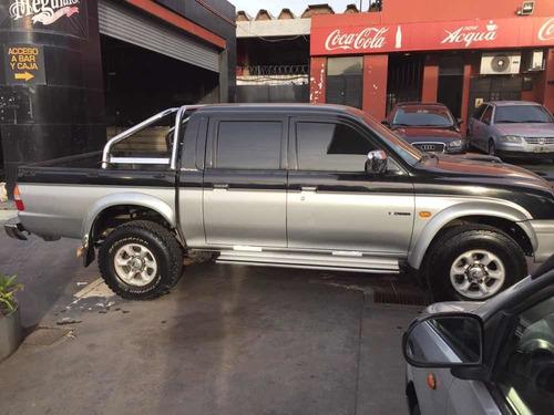 mitsubishi l200 2.5 d/cab 4x4 turbo 2001