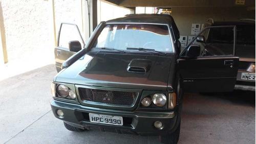mitsubishi l200 2.5 gl cab dupla 4x4 4p 1999