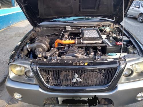 mitsubishi l200 2.5 outd. hpe cab. dupla 4x4 4p aceita troca
