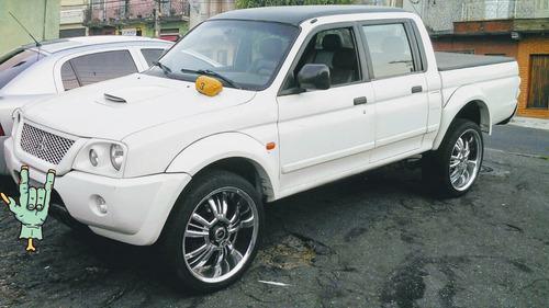 mitsubishi l200 2.5 outdoor gls cab. dupla 4x4 4p 2007